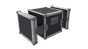 2 Doors Hand Held Flight Case
