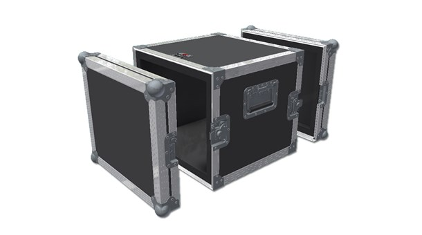 2 Doors Hand Flight Case