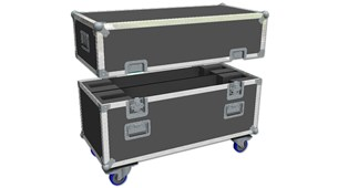 Double Screen Flight Case