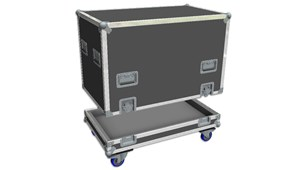 Large Top Hat Flight Case