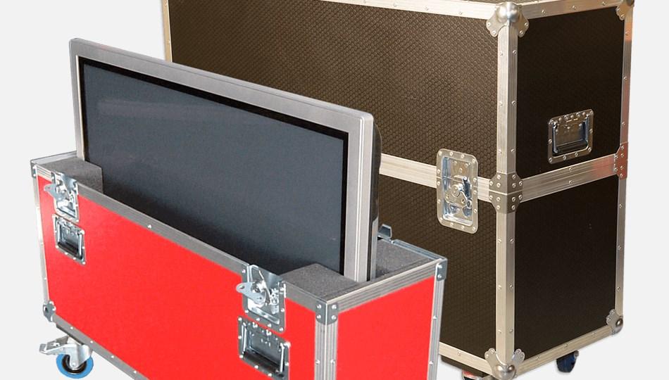 Custom Display/Screen Flight Cases | Dragon Cases