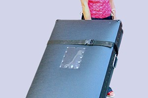 Lisa with pull along poly case.jpg
